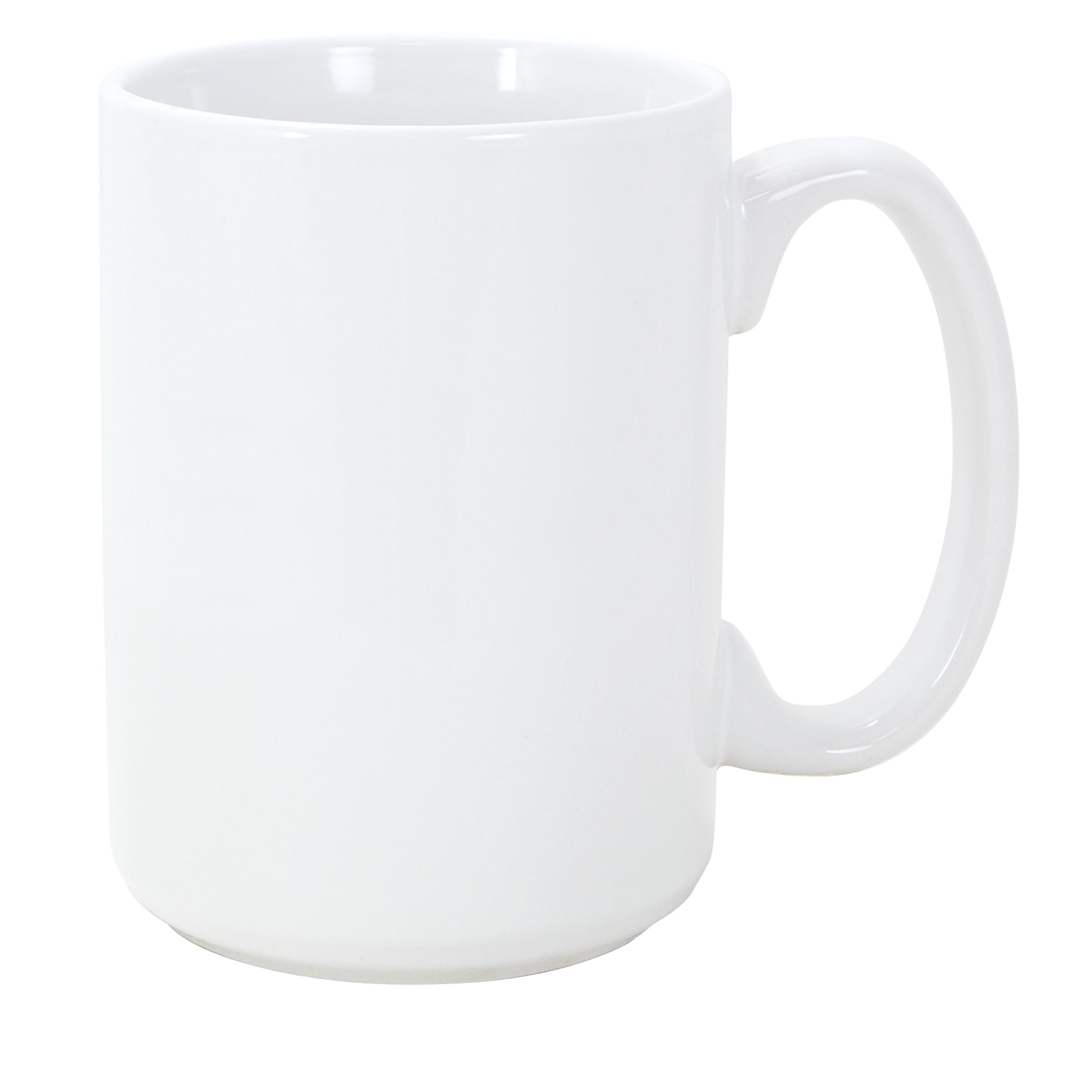Numo El Grande 15 Ounces White Ceramic Mug
