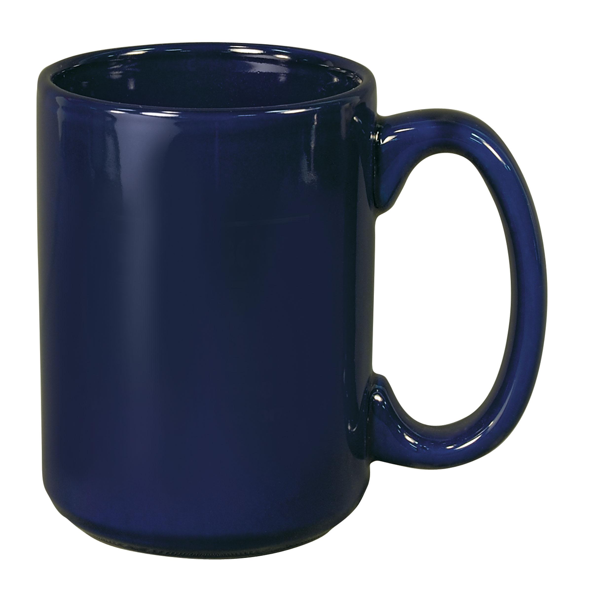 Numo El Grande 15 Ounces Cobalt Ceramic Mug