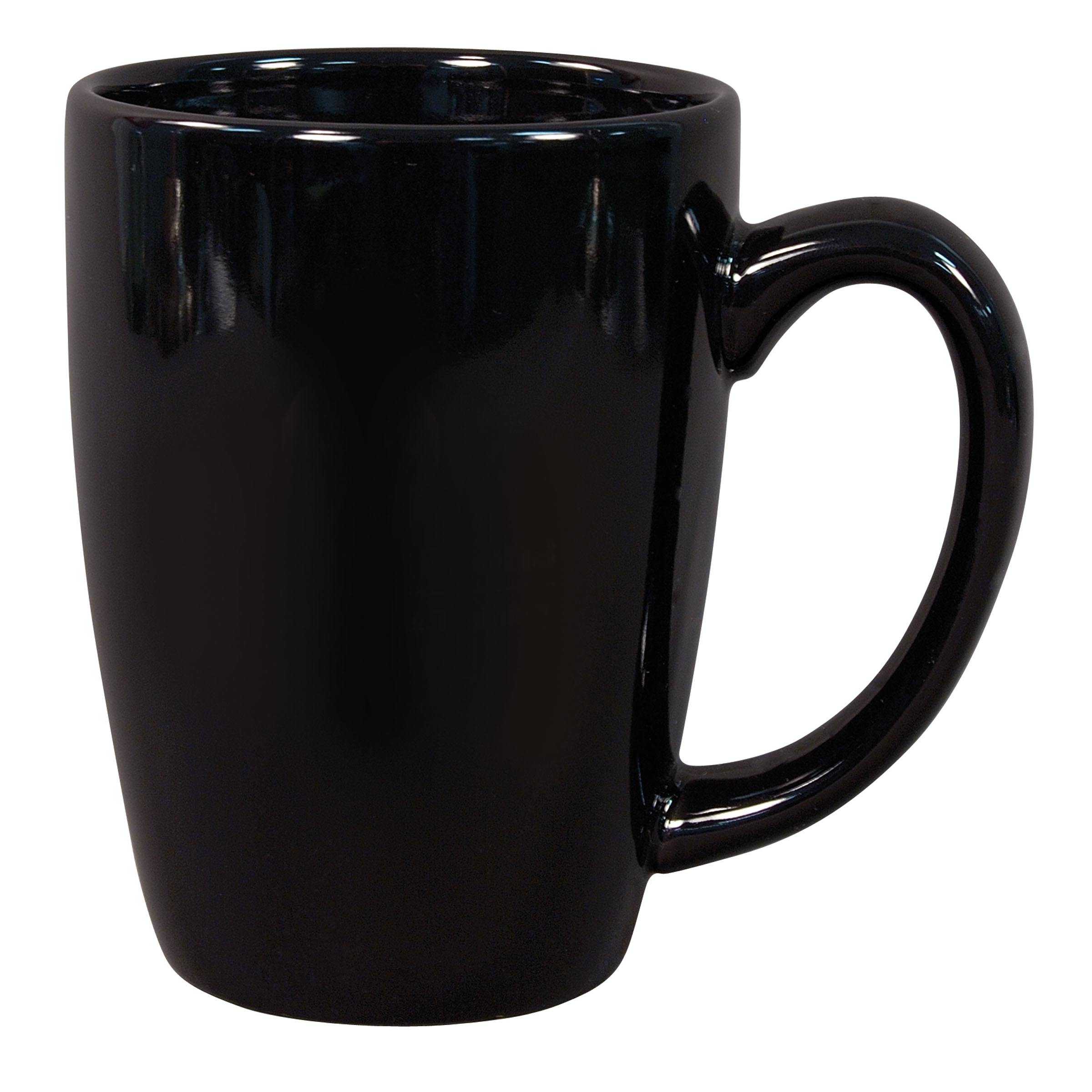 numo challenger 14 ounce black ceramic mug. Black Bedroom Furniture Sets. Home Design Ideas