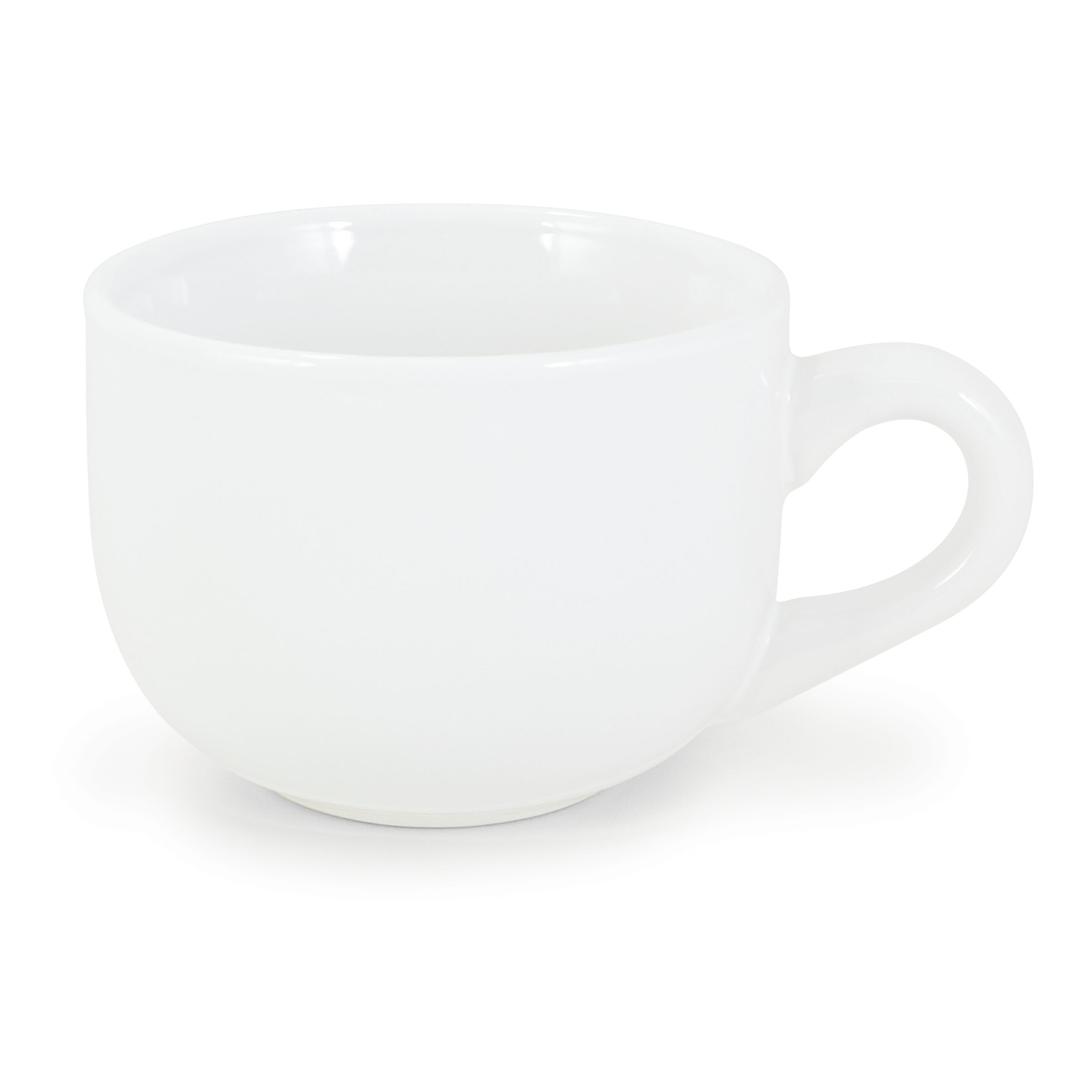 Numo Latte Mug 16 Ounces White Ceramic