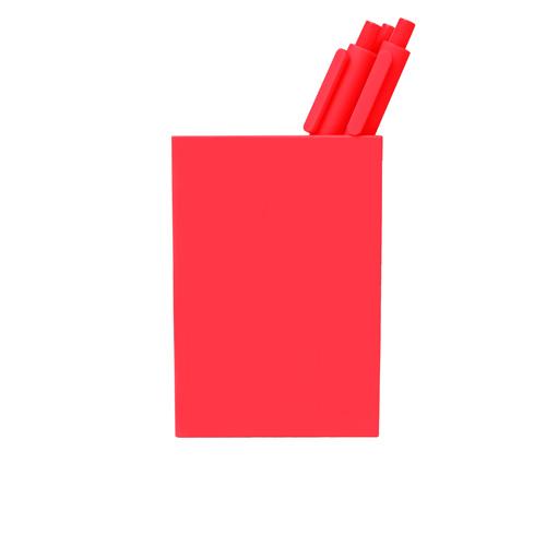 coral pen cup