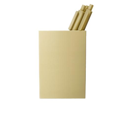 gold pen cup
