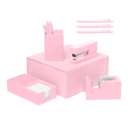 blush desk set