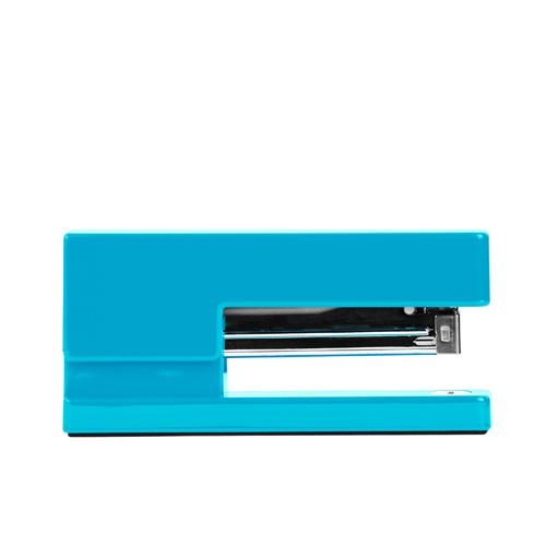 bright-blue stapler