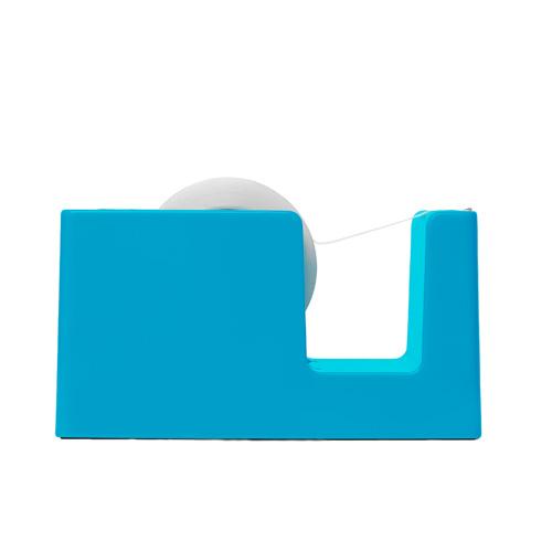 bright-blue tape dispenser