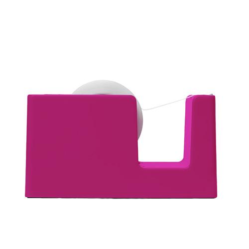 pink tape dispenser
