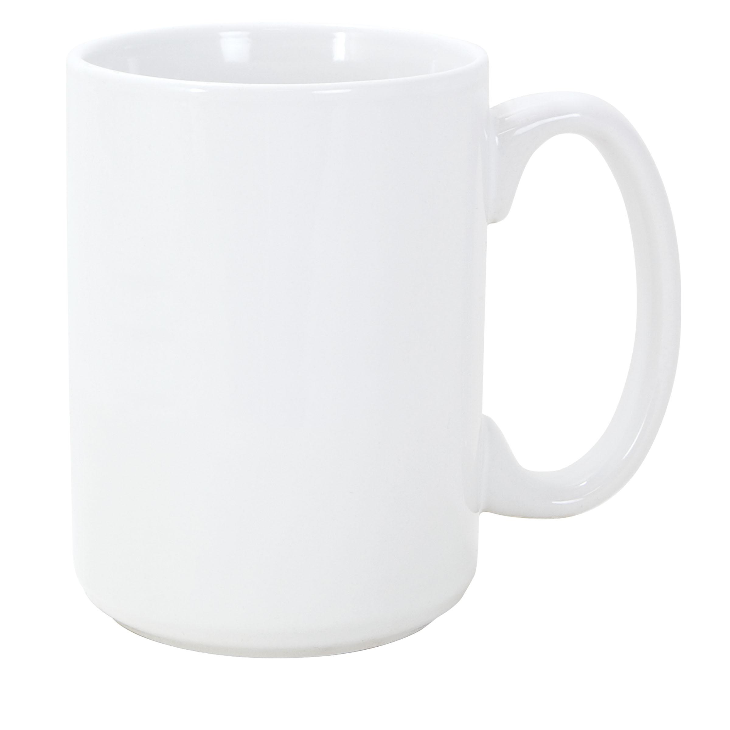 Numo El Grande 15 Ounces White Ceramic Mug